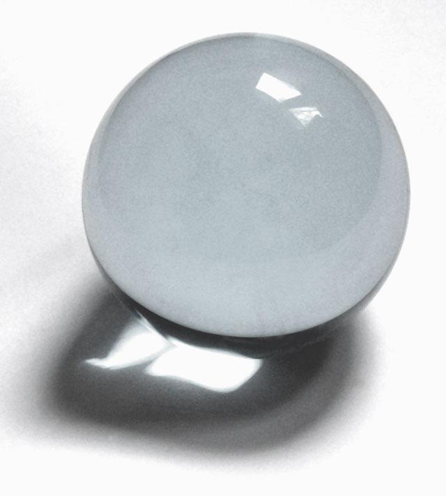 Glass sphere crystal balls na